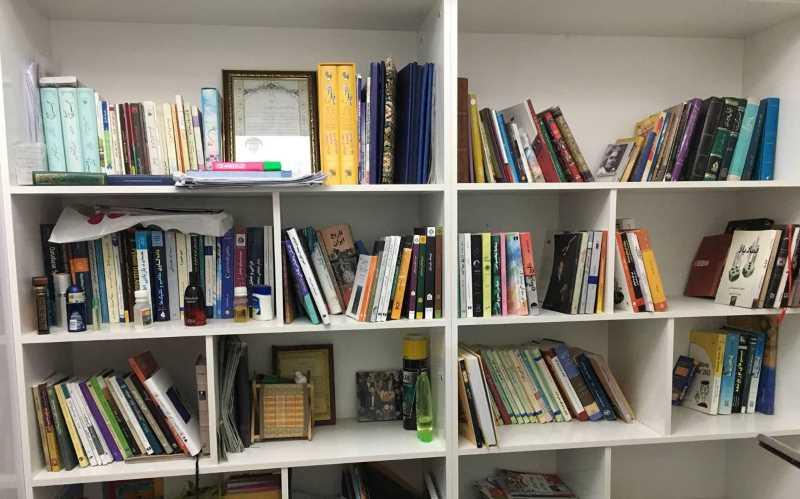 کتابخانه شخصی خودم <>